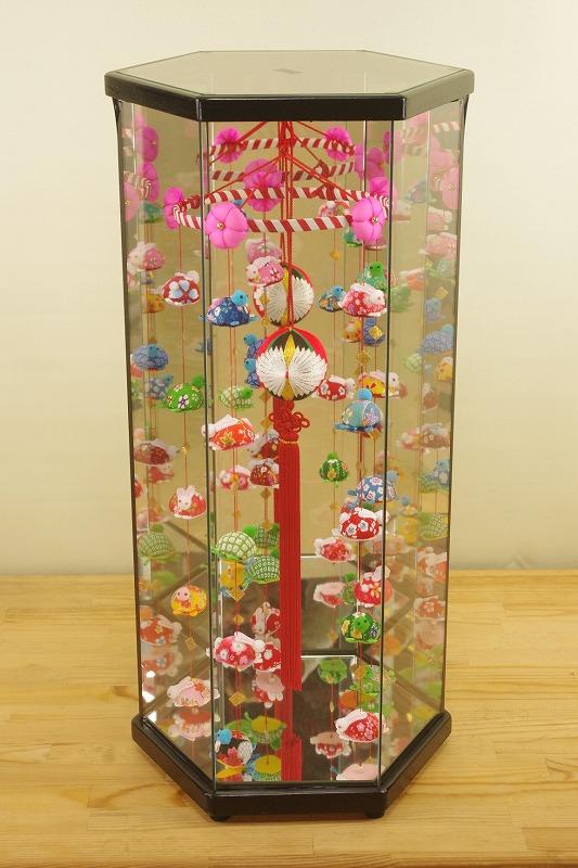 柳川さげもん美草 ケース入りつるし飾り兎(うさぎ)と亀(かめ)柳川まり鶴熨斗(つるのし)模様