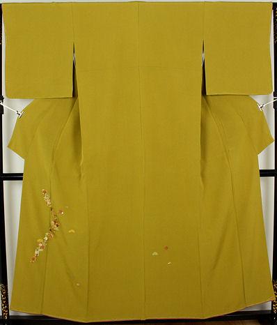 【送料無料】訪問着★正絹★竹屋町刺繍松竹梅 ki20102【新品】
