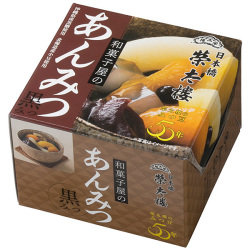 *栄太郎 和菓子屋のあんみつ 黒みつ 6個パック