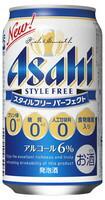 1梱包は2ケースまでです 専門店 ビール類 発泡酒 アサヒ ランキング総合1位 350ml×24缶 1ケース パーフェクト スタイルフリー