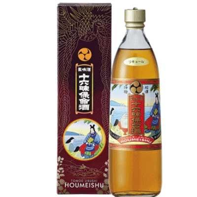 実物 鞆の浦の秘伝酒 日本最古の薬用酒 最安値 入江保命酒本舗 十六味 ほうめいしゅ 900ml 保命酒