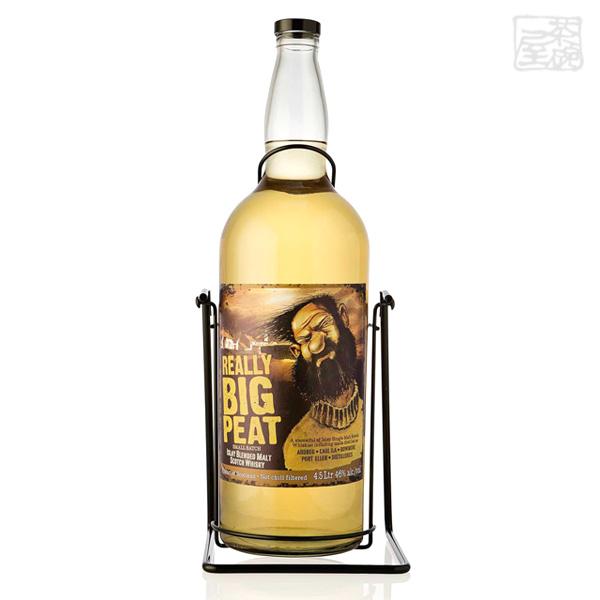 リアリー ビッグピート ダグラスレイン ブレンデッドモルトウイスキー 並行 46% 4500ml (4.5L) クレードル付き