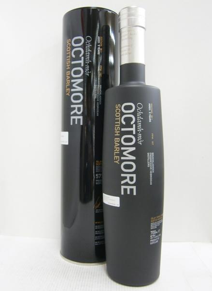 【送料無料】オクトモア 06.1 スコティッシュバーレイ 並行 57% 700ml シングルモルトスコッチウイスキー