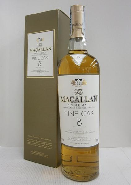 マッカラン 8年ファインオーク 並行 40% 700ml MACALLAN 8y Fine Oak
