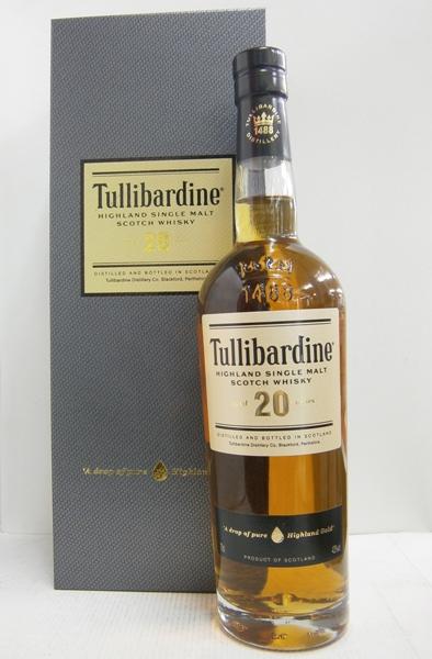 タリバーディン 20年 43% 700ml TULLIBARDINE