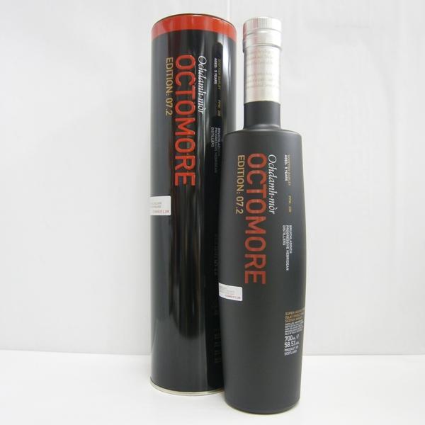 オクトモア 07.2 スコティッシュバーレイ 並行 58.5% 700ml シングルモルトスコッチウイスキー