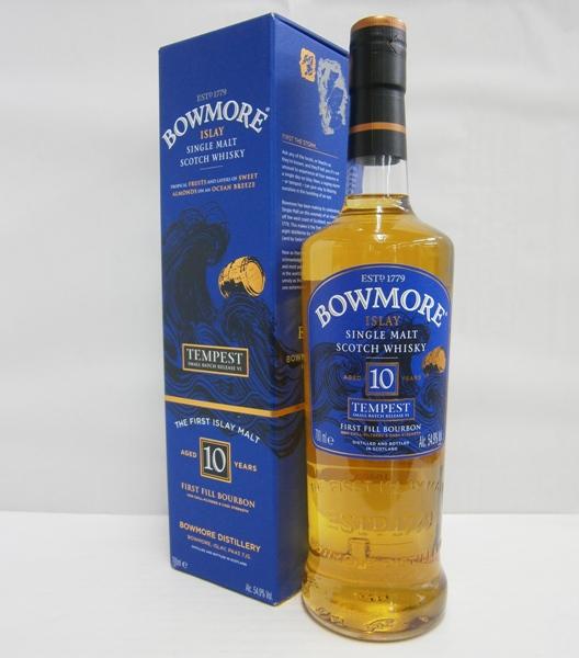ボウモア10年テンペストバッチ6 並行 54.9% 700ml シングルモルトスコッチウイスキー