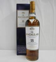 【送料無料】マッカラン18年 正規 43% 700ml シングルモルトスコッチウイスキー