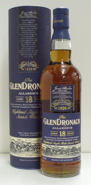 グレンドロナック 18年 アラダイス 並行 46% 700ml シングルモルトスコッチウイスキー