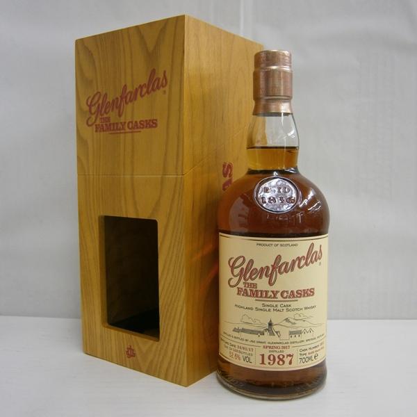 【送料無料】 グレンファークラス ファミリーカスク1987 並行 52.6% 700ml シングルモルトスコッチウイスキー