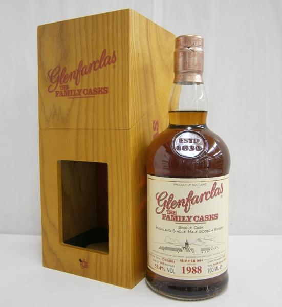 グレンファークラス ファミリーカスク1988-2014 並行 53.4% 700ml シングルモルトスコッチウイスキー