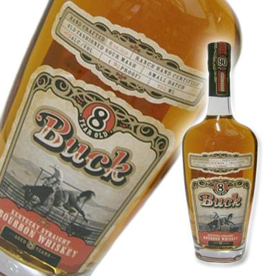 BUCK 8Y バーボン バック 8年 並行 45% 750ml バーボンウイスキー