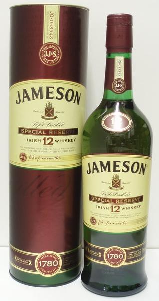 ジェムソン12年 正規 40% 700ml