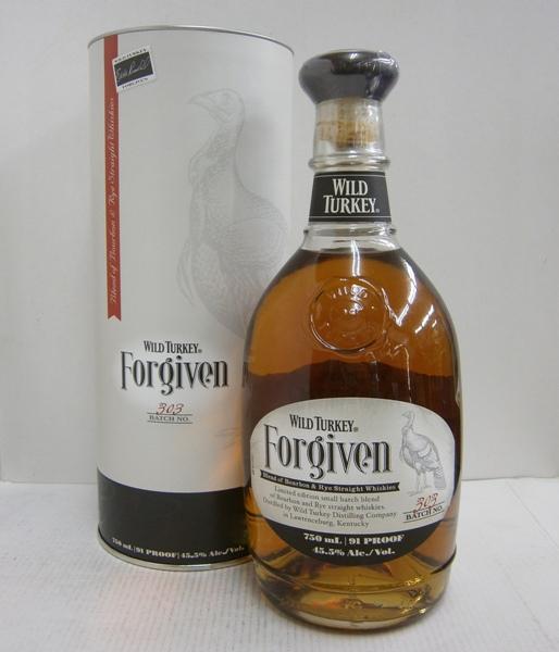 【送料無料】ワイルドターキー フォーギブン 正規 45.5% 750ml サントリー輸入品 バーボンウイスキー