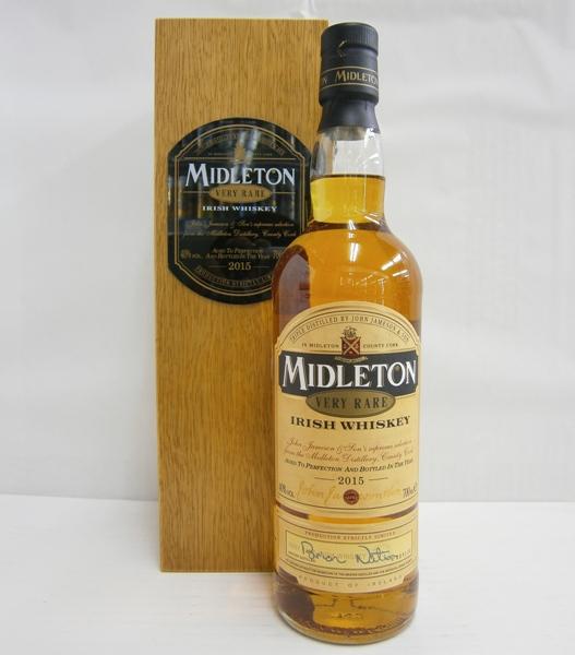 【送料無料】ミドルトン ヴェリーレア 2015 並行 40% 700ml アイリッシュウイスキー