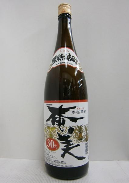 黒糖焼酎 奄美 30% 1800ml*6本