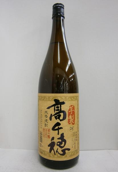 芋焼酎 芋製 高千穂 25% 1800ml*1ケース(6本)
