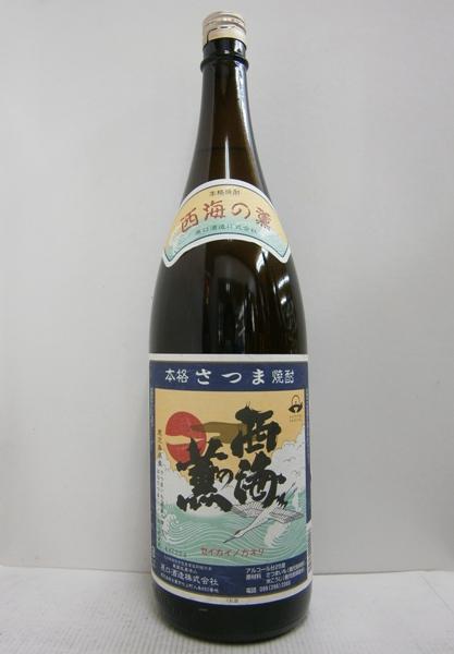 芋焼酎 西海の薫 25% お値打ち価格で 6本 トラスト 1800ml
