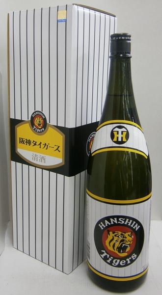 白鷹 阪神タイガース生もと本醸造 1800ml*1ケース(6本)化粧箱入り