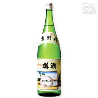 長龍酒造 吉野杉の樽酒 瓶 15度 1800ml*1ケース(6本) 日本酒