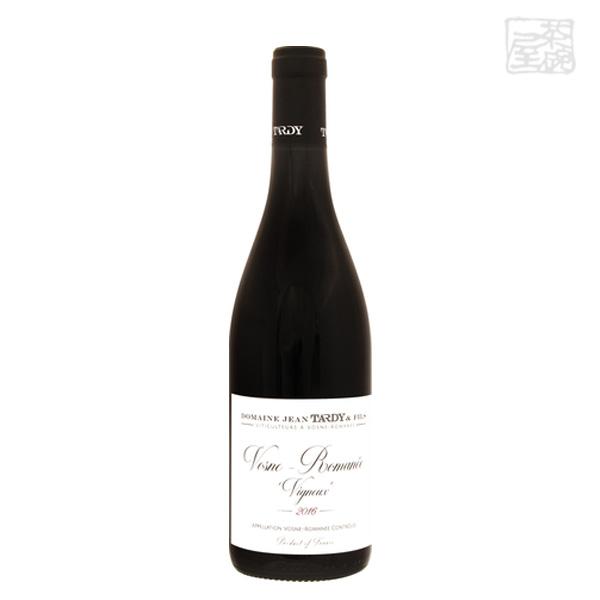 ジャン タルディ ヴォーヌ ロマネ ヴィニュー 2015年 赤ワイン 13度 750ml