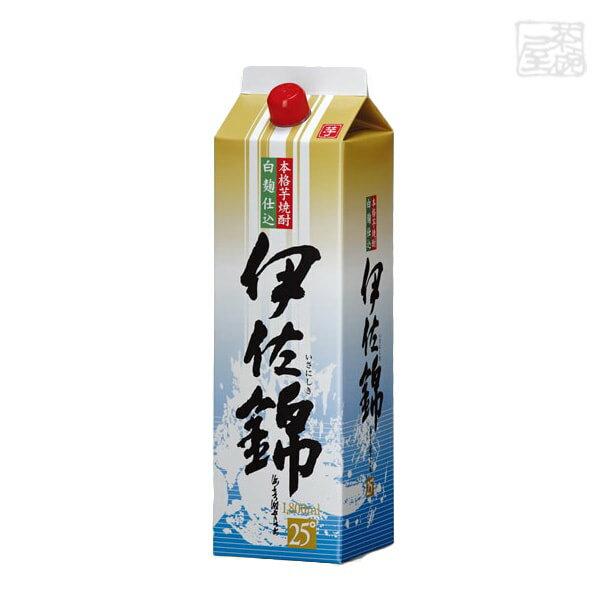 白麹仕込 伊佐錦 パック 25度 1800ml 6本(1ケース) 大口酒造 焼酎 芋