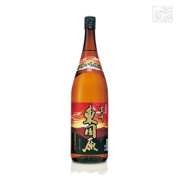 本格いも焼酎 東国原 瓶 25度 1800ml*1ケース(6本) 神楽酒造 焼酎 芋