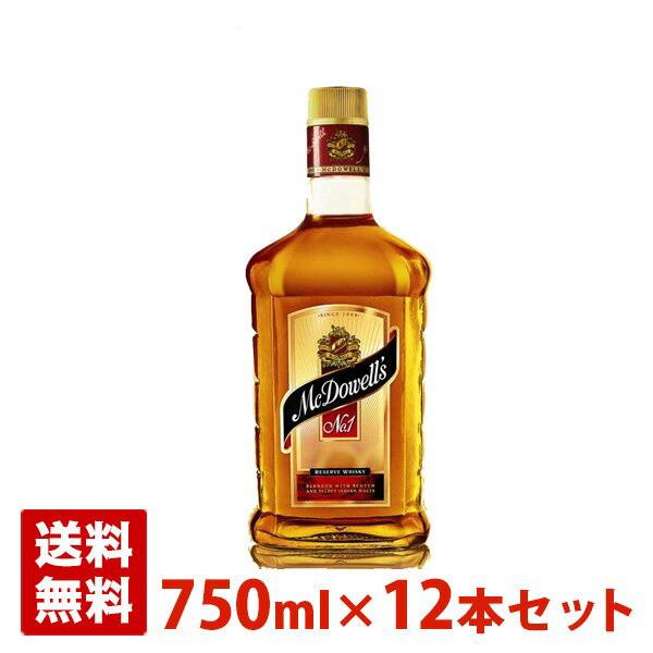 マクダウェルズ No.1 リザーブウイスキー 42.8% 750ml 12本セット(1ケース)
