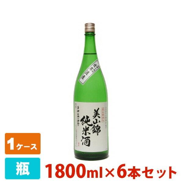 八重寿 美山錦純米酒・白神山地の四季 1800ml 6本セット 八重寿銘醸 日本酒 純米酒