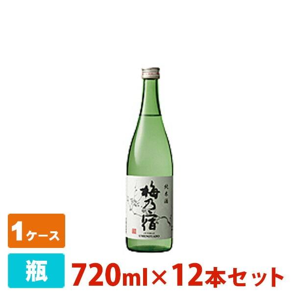 梅乃宿 純米酒 720ml 12本セット 梅乃宿酒造 日本酒 純米酒