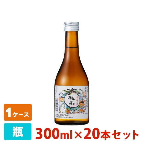 桃の滴 特別純米酒 300ml 20本セット 松本酒造 日本酒 純米酒, ドッグフード&犬用品の店ペネット 7864b06b
