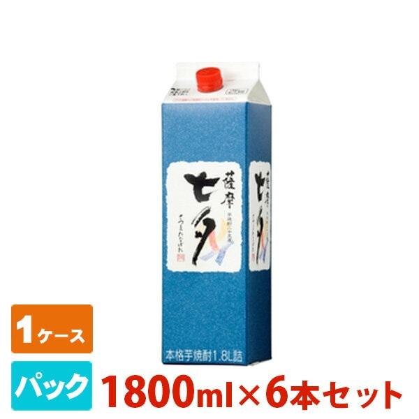 七夕 芋 パック 1800ml 6本セット 田崎酒造 焼酎 芋