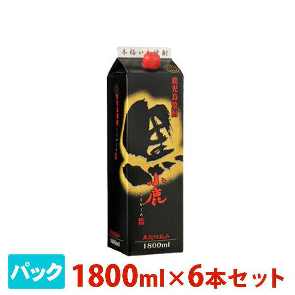 小鹿 黒 芋 パック 1800ml 6本セット 小鹿酒造 焼酎 芋