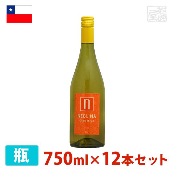 ネブリナ シャルドネ 750ml 12本セット 白ワイン 辛口 チリ
