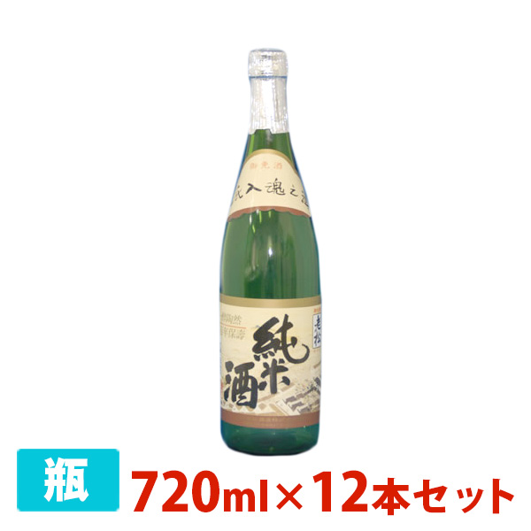 伊丹老松酒造 純米酒 720ml×12本セット(1ケース) 日本酒