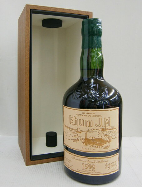 JMラム オルダージュ 1999 正規 42.6% 700ml ラム酒
