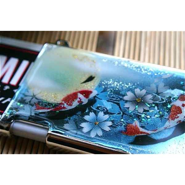 匠の技!和風MINTIAケース「蹴」桜色限定ミンティア!職人の手作り!和柄オリジナル商品です!
