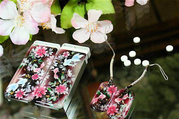【桜色】ペアFRISKケース「区」匠の技!桜色限定の和柄フリスクケース!職人の手作り!オリジナル和雑貨!2商品購入で送料無料!