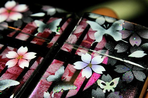 【名入れ】和柄ペアzippo「化」匠の技!桜色限定ペアジッポ!職人の手作り!オリジナル和風ペアライター!ギフト&プレゼント&自分のご褒美!