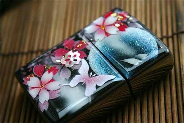 【名入れ】和柄zippo「藻」匠の技!桜色限定ジッポ!職人の手作り!オリジナル和風ライター!ギフト&プレゼント&自分のご褒美!