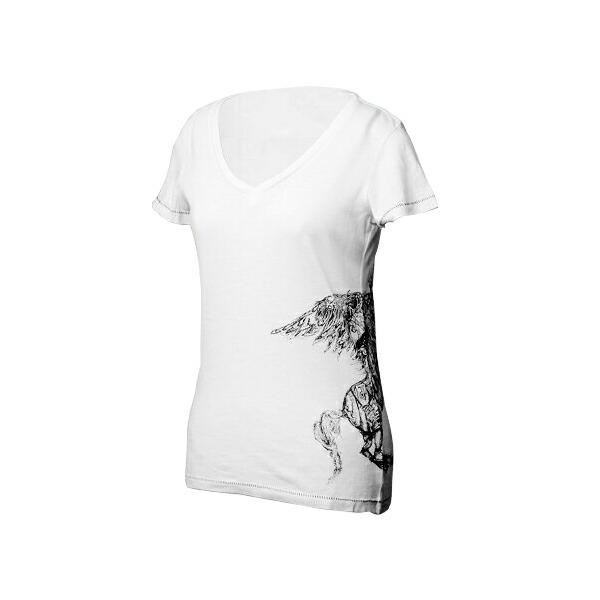 DIESEL(ディーゼル) ペガサス Ladie'sTシャツ ホワイト