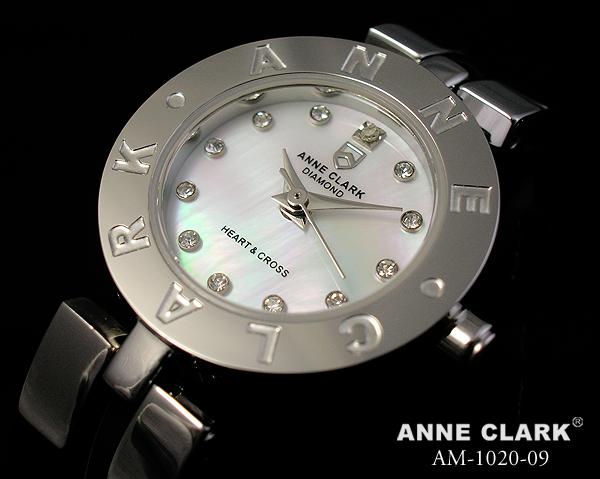 アンクラーク ANNE CLARK 1ポイントダイヤモンド 腕時計 レディース ブランド おしゃれ