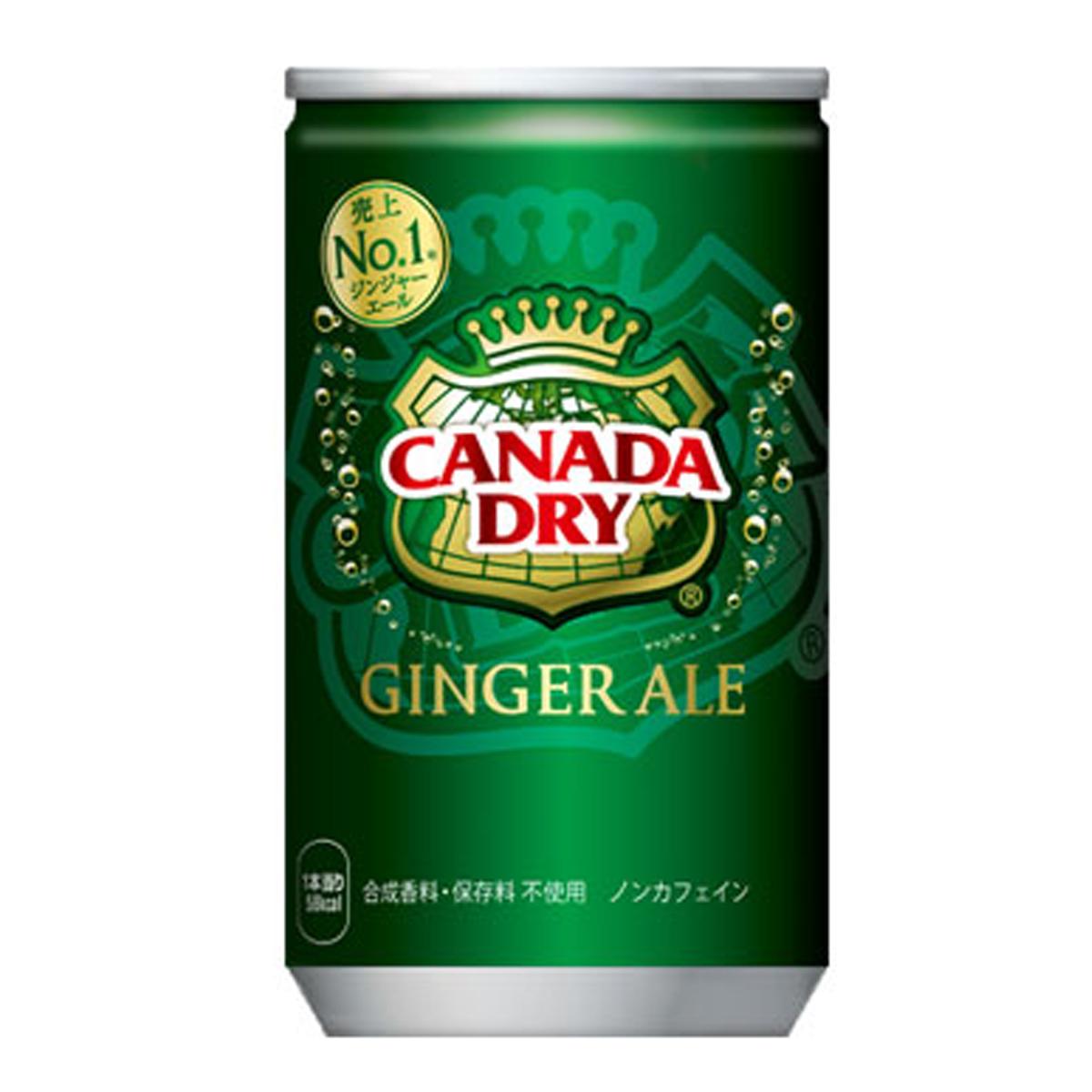 【2ケースセット】コカ・コーラ カナダドライ ジンジャーエール 160mL缶 飲料 飲み物 ソフトドリンク 30本×2ケース 買い回り 買い周り 買いまわり ポイント消化