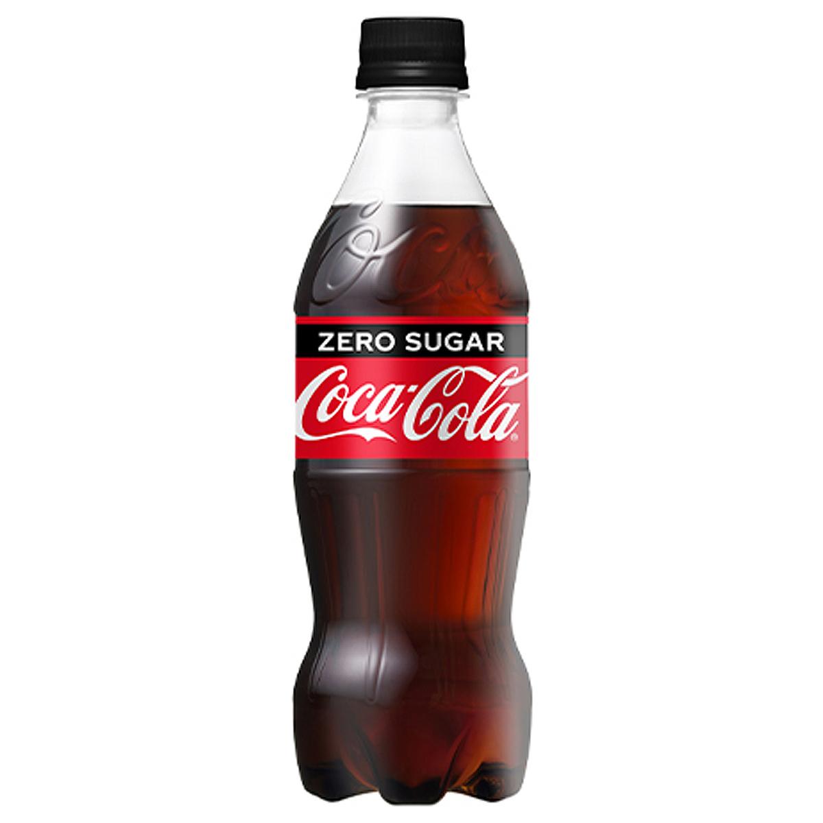 【2ケースセット】コカ・コーラ コカ・コーラ ゼロ PET 500mL 飲料 飲み物 ペットボトル ソフトドリンク 24本×2ケース 買い回り 買い周り 買いまわり ポイント消化