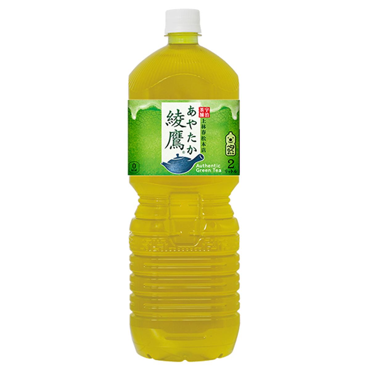 【2ケースセット】コカ・コーラ 綾鷹 ペコらくボトル 2L PET お茶 緑茶 飲料 飲み物 ソフトドリンク ペットボトル 6本×2ケース 買い回り 買い周り 買いまわり ポイント消化