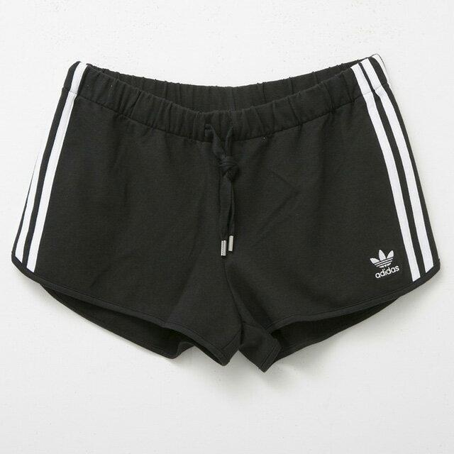 66bcc6af2a2 Adidas adidas ay8125 SLIM SHORTS short pants BLACK black Lady's sports logo  tennis golf house coat running 30s brand