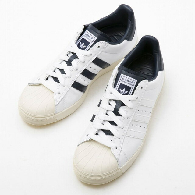 d1f586d848a Superstar bulk low-frequency cut shoes white X navy lady s new stylish  running sale 40s brand for the Adidas adidas B27392 SUPERSTAR VULC ADV  sneakers men ...