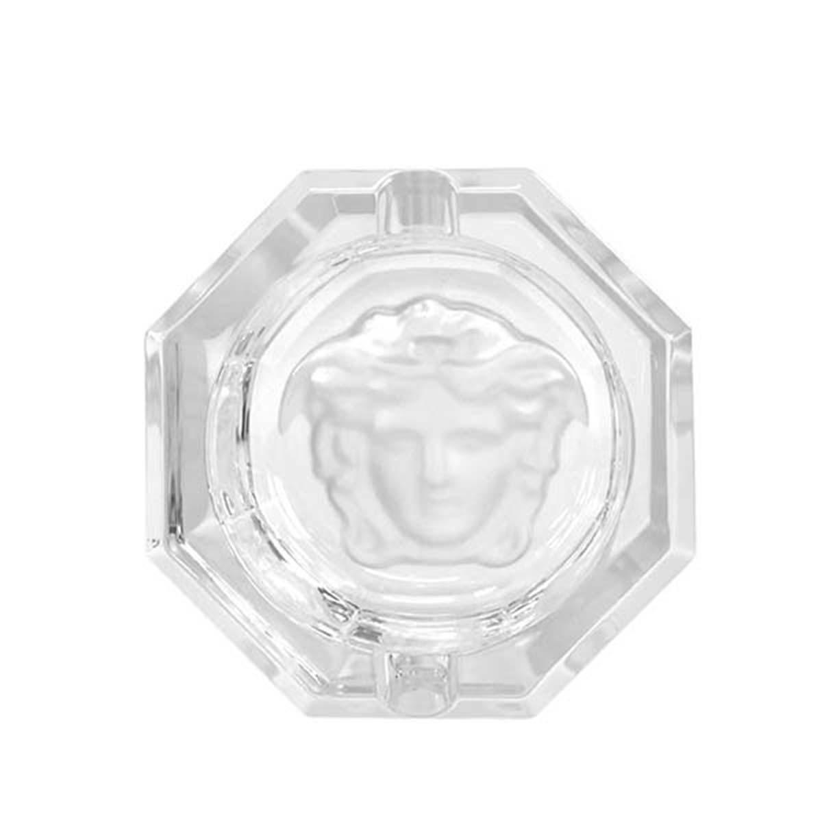 ヴェルサーチェ 灰皿 アッシュトレイ 20665-110835-47508 ASCHER クリア 7.5cm 父の日 誕生日