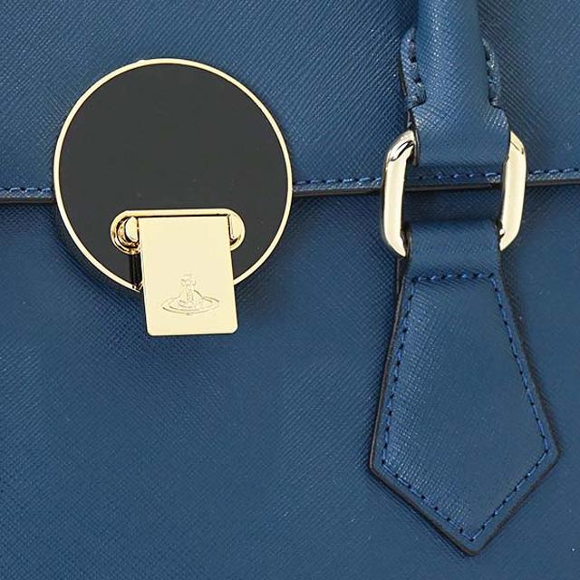 d87979a71e43 Vivien waist Wood Vivienne Westwood 131127 294 OPIO SAFFIANO オーピオサフィアーノ  2way Small handbag BLUE blue