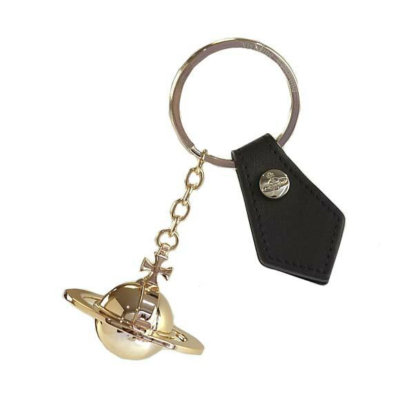 ヴィヴィアンウエストウッド Vivienne Westwood 82030010 ROUND ORB GOLD GADGET ラウンドオーブ ゴールド ガジェット キーリング キーホルダー ゴールド+ブラック